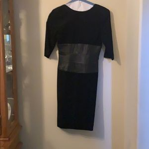 Pia Rucci beautiful suede dress Size 6